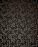 Wallpaper pattern black, seamless Stock Image