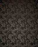 Wallpaper pattern black, seamless Stock Image