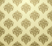 Wallpaper pattern luxury Stock Images