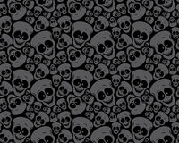 Wallpaper pattern skulls Stock Image