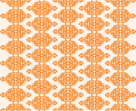 Wallpaper Pattern - Vector. Wallpaper Pattern in orange - Vector Royalty Free Stock Images