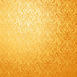 Wallpaper with patterns from the last century Stock Image