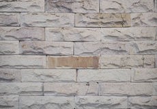 Wallpaper of raw brick tile pattern Royalty Free Stock Photography