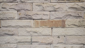 Wallpaper of raw brick tile pattern Royalty Free Stock Images