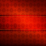 Wallpaper with repeating pattern Stock Image
