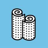 wallpaper Rolls della carta da parati Illustrazione di vettore della carta da parati illustrazione vettoriale