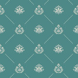 Wallpaper in royal baroque style Stock Photography