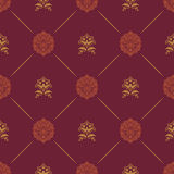Wallpaper in royal baroque style Royalty Free Stock Photos
