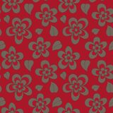 Wallpaper seamless pattern, fashion design, vector Royalty Free Stock Photography