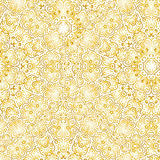 Wallpaper. A seamless vector background. Gold Royalty Free Stock Images