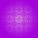 Wallpaper Silver Batik Swirl on Purple Background Stock Images
