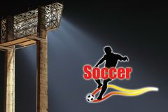Wallpaper Soccer Stock Images