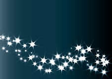 Wallpaper with stars. And blue background Stock Photo