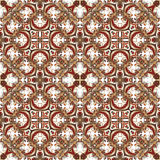 Wallpaper in the style of Baroque. A seamless vector background. Royalty Free Stock Photos