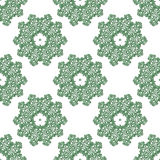 Wallpaper in the style of baroque. a seamless vector background. Stock Image