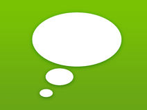 Wallpaper with talking bubble vector illustration