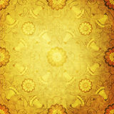 Wallpaper with vintage pattern Stock Image