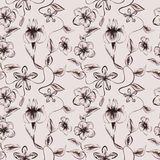 Wallpaper vintage pattern Royalty Free Stock Photo