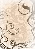 Wallpaper with weaves Royalty Free Stock Image