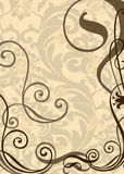 Wallpaper with weaves Stock Photography