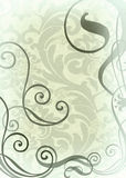 Wallpaper with weaves Stock Image