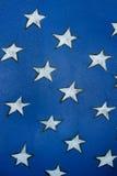 Wallpaper. White star on blue wallpaper texture Stock Image
