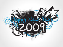 Wallpaper, year 2009 background Royalty Free Stock Image