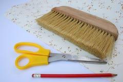 wallpapering инструментов Стоковое Фото