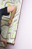 Wallpapering стоковое фото rf