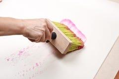 Wallpapering. Royalty Free Stock Image