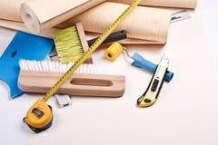 Wallpapering Hilfsmittel Lizenzfreie Stockfotografie