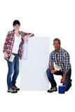 Wallpapering Stock Photos