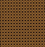 Wallpapers with abstract golden patterns Royalty Free Stock Photos