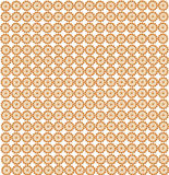 Wallpapers with abstract golden patterns Stock Images
