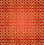 Wallpapers with abstract golden patterns Royalty Free Stock Photography