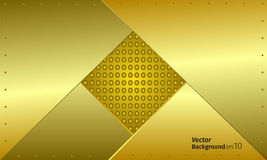 The wallpapers abstraction. The wallpapers armor abstraction gold Stock Photography