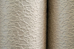 Wallpapers. Closeup of rolled wallpapers Royalty Free Stock Photography