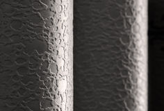 Wallpapers. Closeup of rolled wallpapers Royalty Free Stock Photos