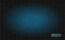 The wallpapers. The dark balls  blue glow Royalty Free Stock Images