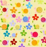 Wallpapers för barns lokal stock illustrationer