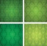 wallpapers för dagpatrick s st vektor illustrationer