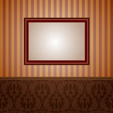 Wallpapers and frame Royalty Free Stock Image