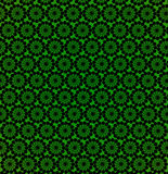 Wallpapers with round abstract green patterns Stock Photos