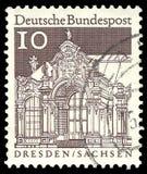 Wallpavillon Zwinger стоковое изображение