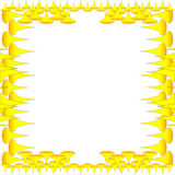 wallperyellow Royaltyfri Foto