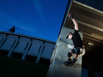 Wallride Royalty Free Stock Photography