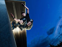 Wallride Stock Foto's