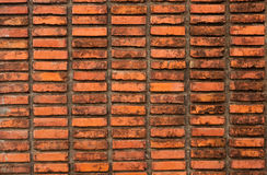 Walls. Brown brick walls of the temple Royalty Free Stock Images