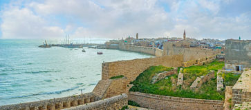 The walls of Acre Royalty Free Stock Images