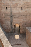 Walls of the Alcazaba, Alhambra, Spain Royalty Free Stock Images